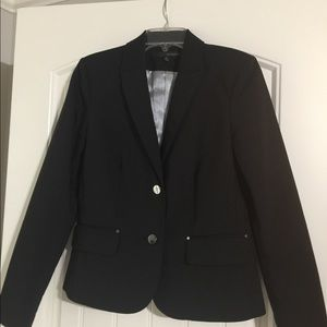 Harve Benard Black Suit Jacket-Size 6
